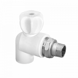 angle radiator valve-PP-RC